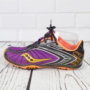 Saucony Racing Track Sneakers Purple Size 6